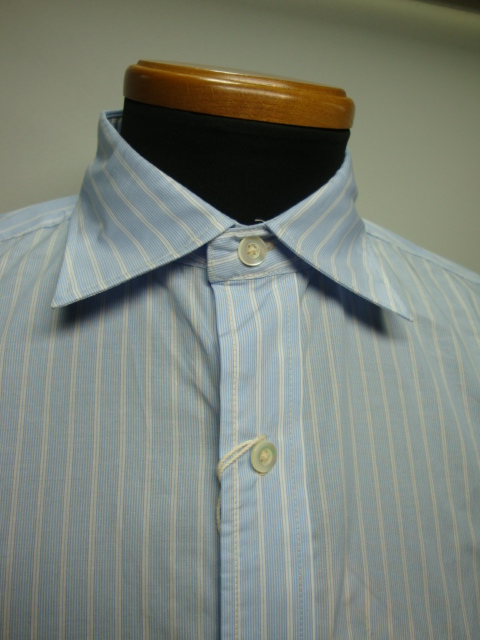 Wide spread collar shirts mailer for Wide spread collar shirt