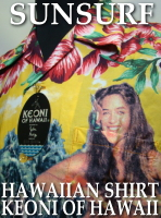 SUNSURF HAWAIIAN SHIRT KEONI OF HAWAII