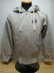 リアルマッコイズ McCOY'S HOODED SWEATSHIRT Col.GRAY