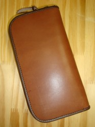レインボーカントリー Saddle Leather Wallet Col.RED BROWN