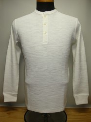リアルマッコイズ DOUBLE DIAMOND WALE KNIT HENLEY SHIRT