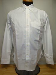ウェアハウス Lot 3099 L/S OXFORD B.D. SHIRTS Col.WHITE