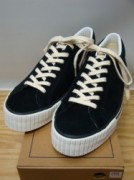 ウェアハウス Lot 3400 SUEDE SNEAKER Col.BLACK