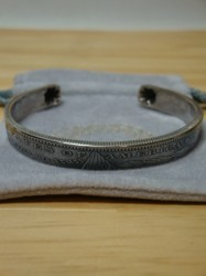 ノースワークス Morgan Dollar End Shell Bangle SIZE M