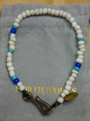 ノースワークス Nickel 10¢ Hook Beads Bracelet Col.WHITE
