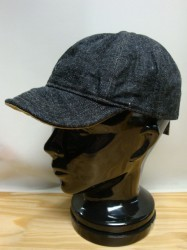 "コリンボ 14oz デニム""Doubleday Cap"" Col.BLACK DENIM"