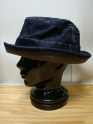 "コリンボ CROSSBOW HAT ""CORD"" 14oz DENIM"