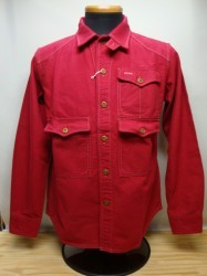 コリンボ THE WESTSIDE RIFLEMAN'S CHAMOIS SHIRT Col.RED