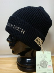 コリンボ B/F SHOOTING WATCH CAP Col.BROWN×GRAY