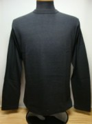 ウェアハウス Lot.5906 CREW NECK L/S T-SHIRTS Col.BLACK