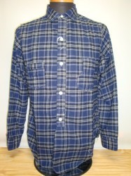 "フリーホイーラーズ ""CONDUCTOR SHIRTS"" INDIGO FLANNEL CHECK"