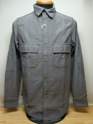 フリーホイーラーズ M1916 SHIRTS Col.GRAY (P.X LIMITED)