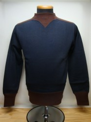 フリーホイーラーズ COLORED TRIMMED SWEAT SHIRT