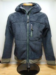 "コリンボ ""NORTH ELBA THERMAL HOODY""Col.CHARCOAL BLACK"