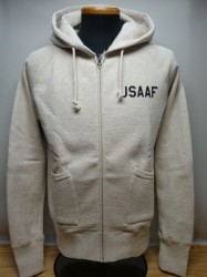 "リアルマッコイズ MILITARY HOODED SWEATSHIRT ""USAAF"""