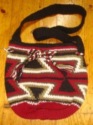 "コリンボ HIGH LANDER KNIT ""TURRON MINI BAG"" Col.RED"