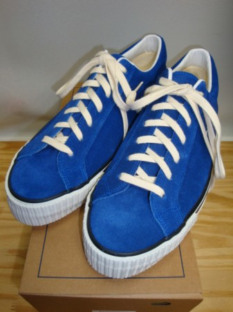 ウェアハウス Lot 3400 SUEDE SNEAKER Col.BLUE