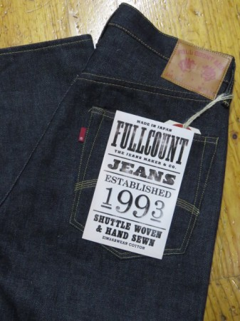 フルカウント PX 30th ANNIVERSARY LIMITED Lot.601 15.5oz