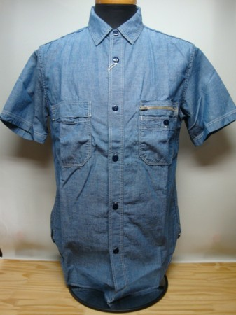 "フリーホイーラーズ Vintage Indigo Chambray Shirt ""RUTH """