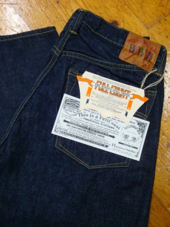 フルカウント Lot.1100 WWII MODEL 14.5oz LIMITED EDITION