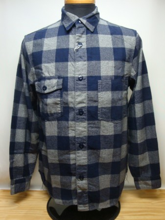 "フリーホイーラーズ ""SWEMPER"" LIGHT FLANNEL BUFFALO CHECK"