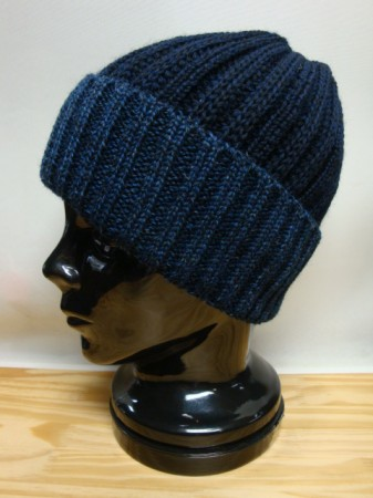 コリンボ B/F SHOOTING WATCH CAP Col.BLUE×NAVY