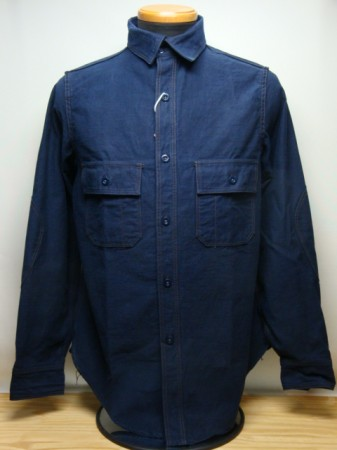 フリーホイーラーズ M1916 SHIRTS Col.NAVY (P.X LIMITED)