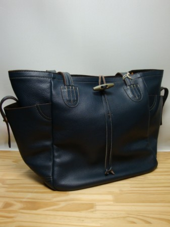 コリンボ BURLINGTON FLASH Leather Sports Tote (L)